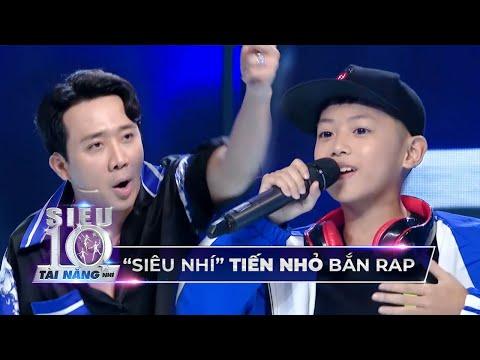 Tiến Nhỏ trổ tài bắn ráp 'CỰC NHANH' giao lưu với 'Rapper Trấn Thành' tại trường quay Super 10 | Những bài nhạc hay nhất 1
