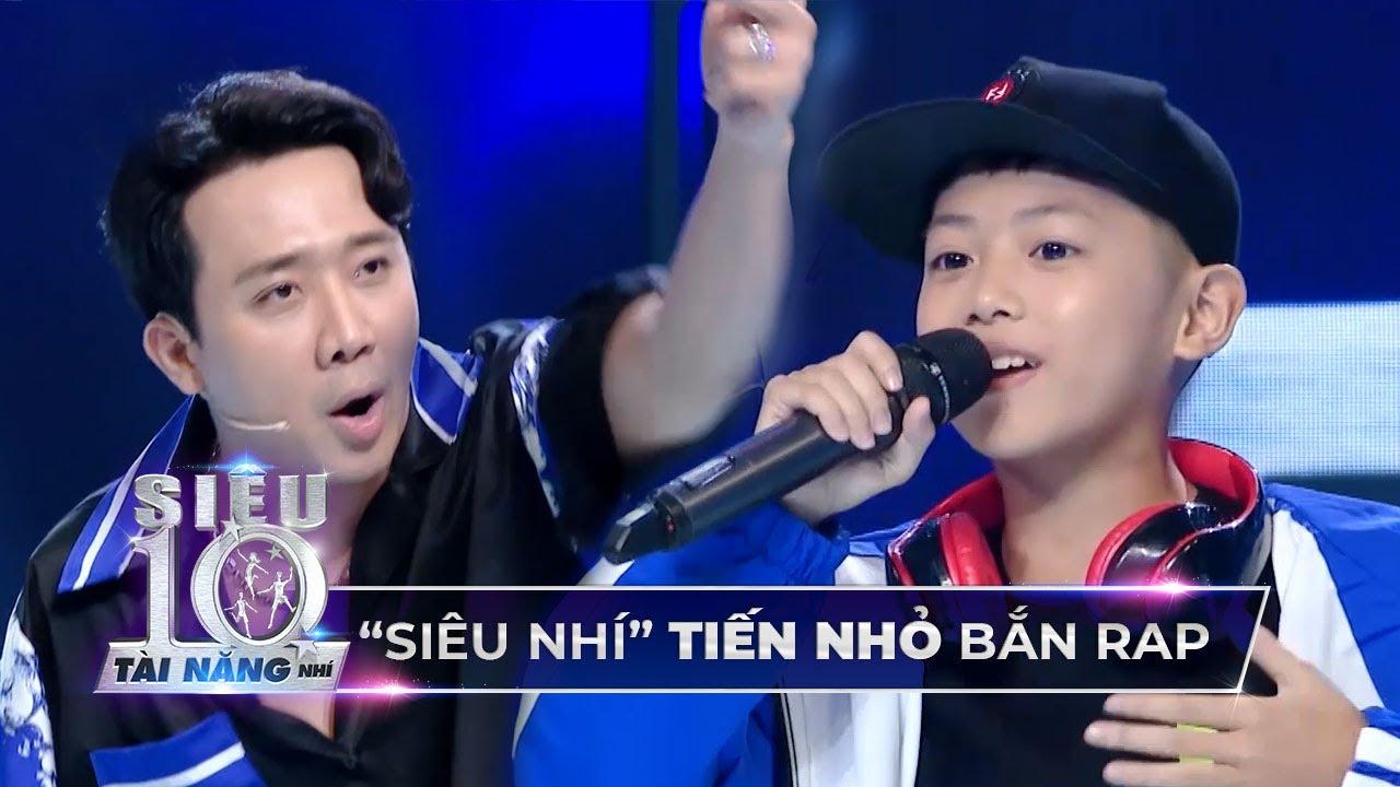 Tiến Nhỏ trổ tài bắn ráp 'CỰC NHANH' giao lưu với 'Rapper Trấn Thành' tại trường