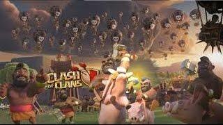 Clash of Clans Nouveau vivi hdv5 et une attaque en cadeau lol
