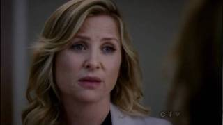 Callie Torres and Arizona Robbins Scene Season 7 Episode 1 - With You I