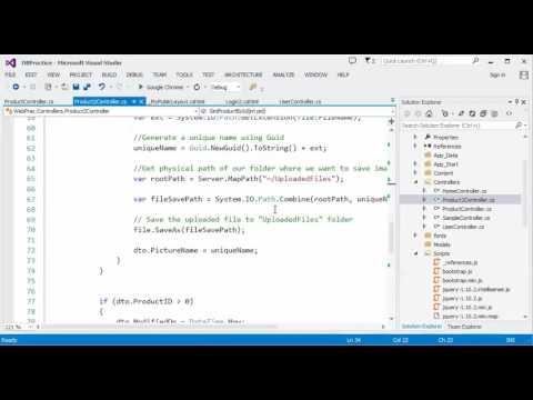 ASP NET MVC - Part 16 (Product Management System Using AJAX - 1)