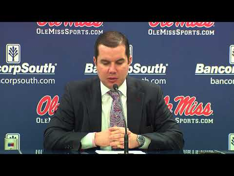 PRESSER | Matt Insell _ Ole Miss vs Missouri 48 - 67 (01/18/18)