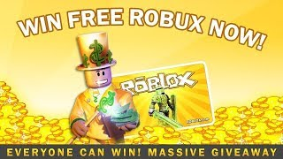 🔴GET FREE ROBUX - EASY - ROBLOX LIVE STREAM - GIVEAWAY