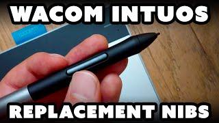 Replacing Wacom Intuos Pen Nibs