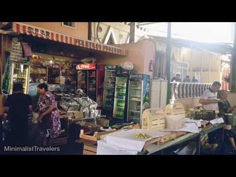 46 Seconds in Taza Bazar Baku, Azerbaijan (Personal Experiences in the wet market/ flea market)