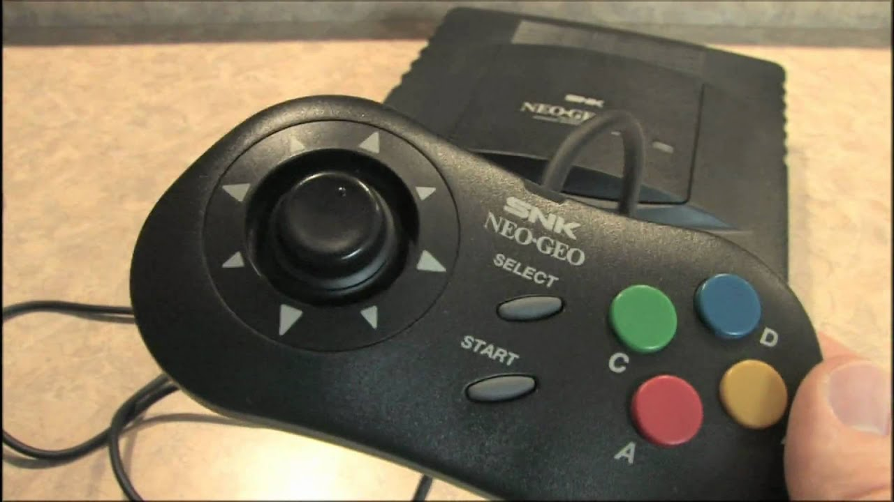 Classic Game Room HD NEO-GEO CD Controller review - YouTube