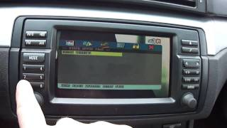 Fully integrated DVD Remote Control on OEM BMW Navigation System