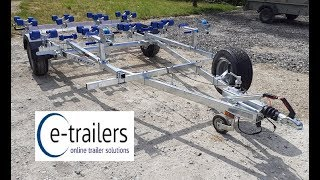 Gambar cover Extreme 1300kg (EXT 1300) Double Jet Ski Roller Trailer