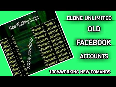 Clone Unlimited Old Accounts Latest 2019 Trick || Nomi Technical Tricks