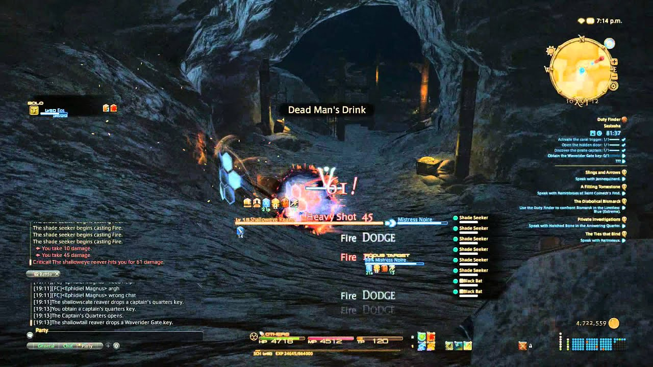 「Final Fantasy XIV」 Lv50 SCH Solo ~