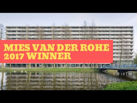 DEFLAT KLEIBURG in Amsterdam | NL  + XVW | Winner of Mies van der Rohe Award 2017