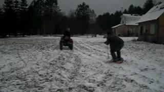 Morey snow towed - Morey sur neige tracteur #1 Thumbnail