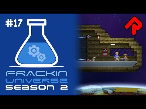 Build Your Own Ship!   Let's Play Starbound Frackin' Universe S2 Ep 17