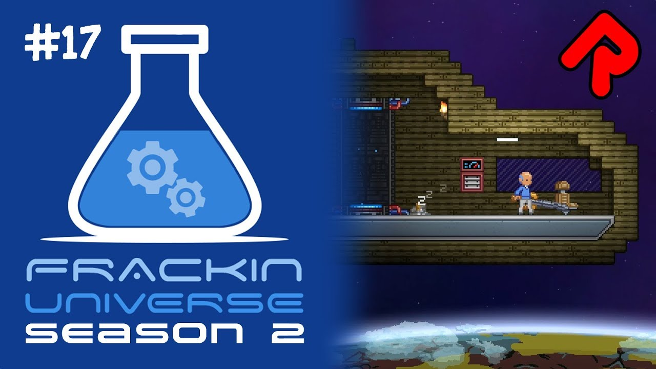Build Your Own Ship! | Let's play Starbound Frackin' Universe S2 ep 17
