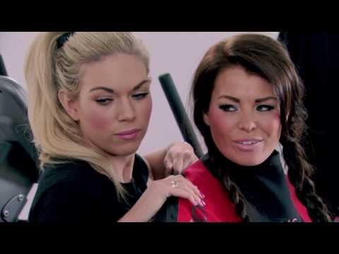 Lauren Goodger and Jessica Wright Work Out In Vacuum Suits - The Only Way Is Essex