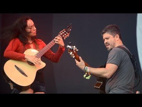 Rodrigo y Gabriela - Tamacun at Glastonbury 2014