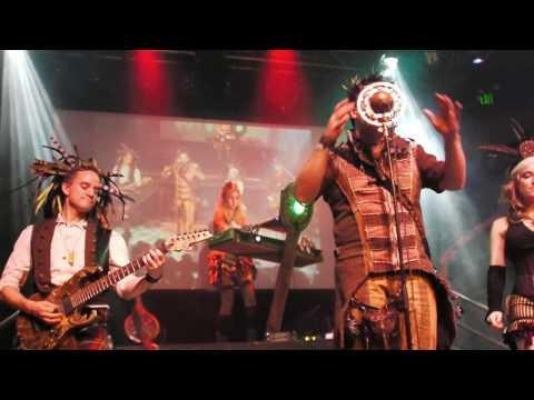 Abney Park (Steampunk), Stigmata Martyr, Live Concert, San Francisco, Burton