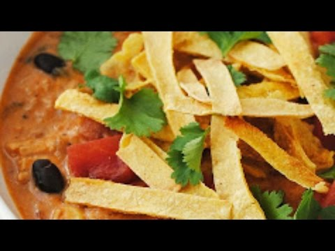 Paleo Soup Chicken Tortilla Soup Recipe