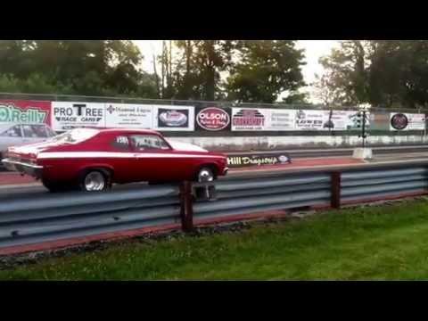 1969 nova 396 body 454 block 396 crank making a 427 ci big block Chevy  Running slow after 14 years