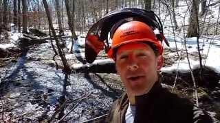 North Country Trail volunteer