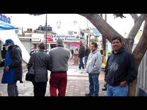 Mexico Nogales Sonora, USA Arizona Border Crossing