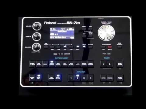 Roland BK-7M Selecting Sounds