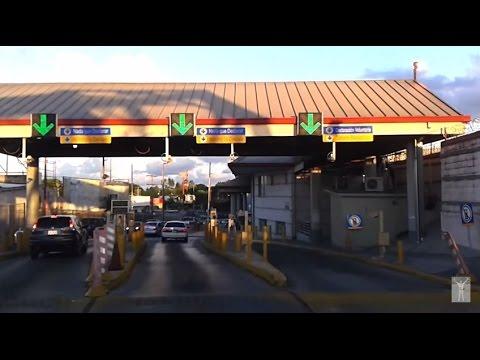 Cruzando el Puente B&M, Brownsville Tx a Matamoros Tamaulipas, Centro de la Ciudad