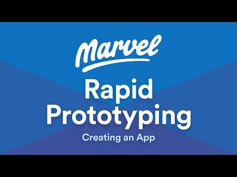 Rapid Prototyping with Marvel App and Sketch App - Full app demo