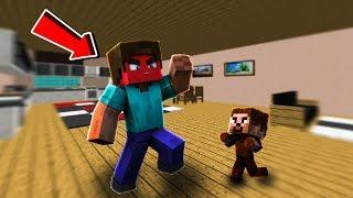 SİNİRLİ ADAM BEBEK FAKİRE SALDIRIYOR! 😱 - Minecraft