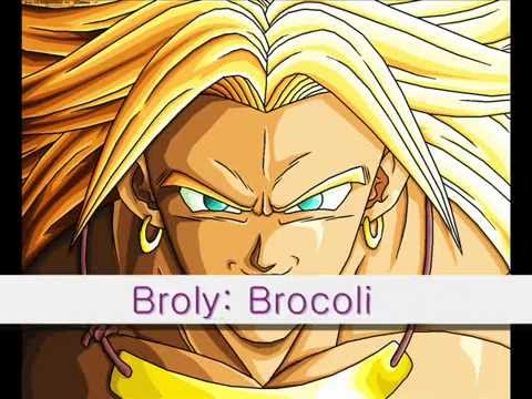 Dragon Ball Z - Significado de los Nombres. - YouTube