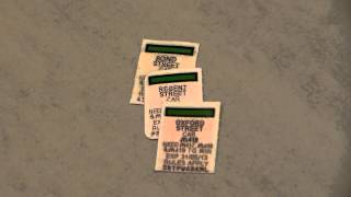 McDonalds monopoly stickers (Oxford street, regent street, bond street)