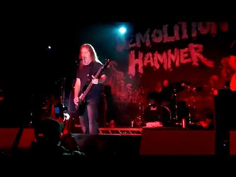 Demolition Hammer - Crippling Velocity (live @Lords of the Land, Glasgow, 07/04/2018)