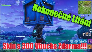 Skin and 300 V-Bucks FREE!! How to fly indefinitely!! Fortnite Battle Royale