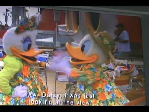Disney Cruise Line Bus video 1/2