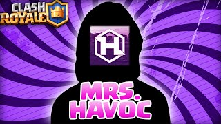 MRS. HAVOC PLAYS Clash Royale FOR THE FIRST TIME!