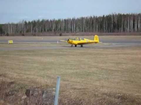 Saab 91B Safir on ESSU