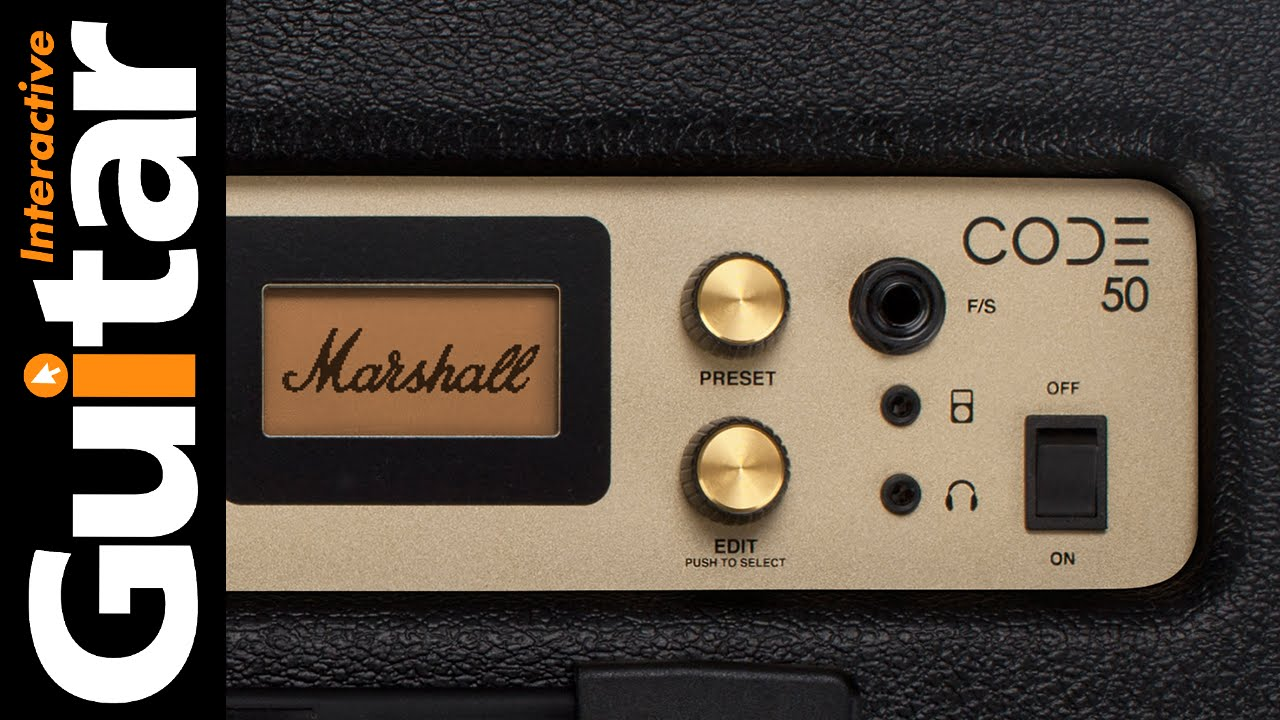 Marshall Code 50 Guitar Amplifier Review Youtube