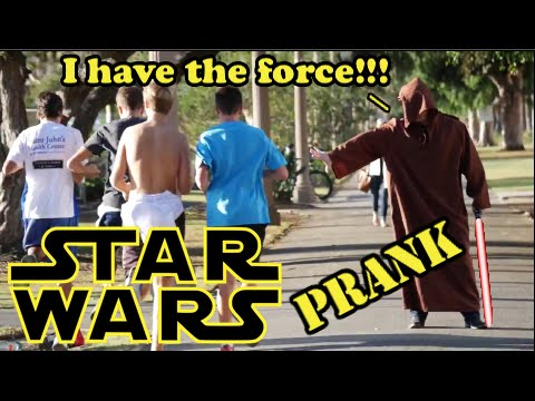 Star Wars Force Awakens Prank!