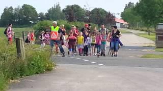 Avondvierdaagse Gemeente Littenseradiel Dag 2