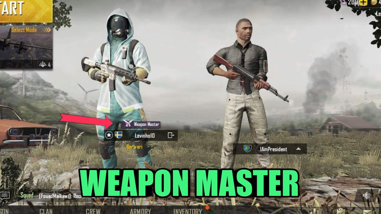 Pubg Weapon Master Wallpaper: How To Get Weapon Master