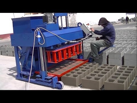 This machine does what 100 workers do alone. The incredible power of technology.