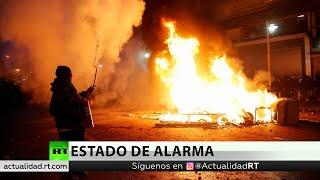 Decretan El Toque De Queda En Santiago De Chile Tras Protestas Masivas