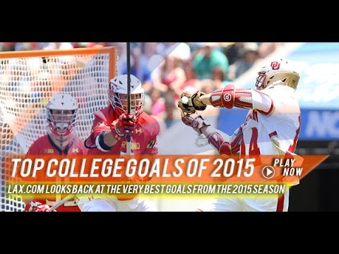 Lax com's Top College Goals of 2015