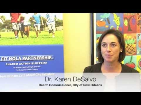 City of New Orleans Health Commissioner, Dr. Karen DeSalvo, on FIT NOLA