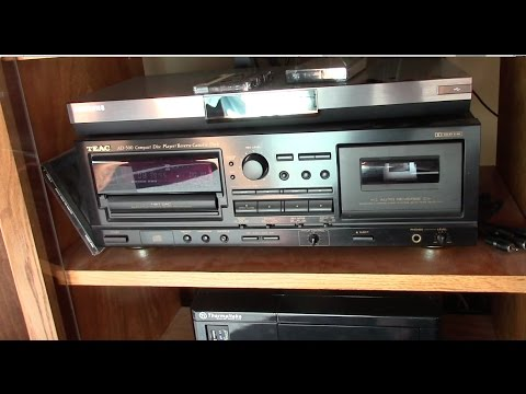 My TEAC Cassette Deck DIED!    And then I finished it off