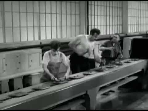 Charlie Chaplin  Factory Work