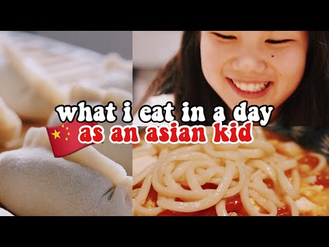 what i eat in a day as a chinese kid (cinematic) thumbnail