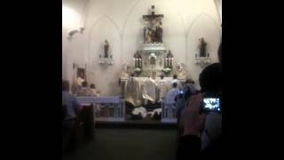 Traditional Catholic Ordination-Prostration...Litany