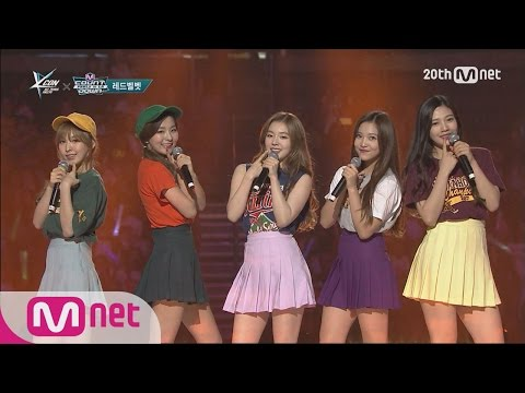 Red Velvet(레드벨벳) - 'Ice Cream Cake' M COUNTDOWN - FEELZ in LA 150813 EP