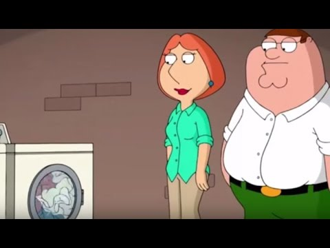 Family Guy Lois Teaches Peter How To Do The Laundry Youtube